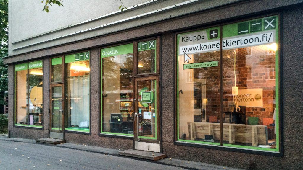 Koneet kiertoon -liike Tampereella